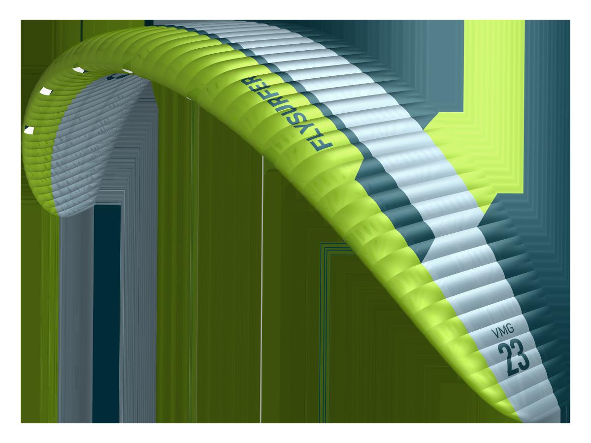 Flysurfer VMG2 Hydrofoil und Race Foil Kite