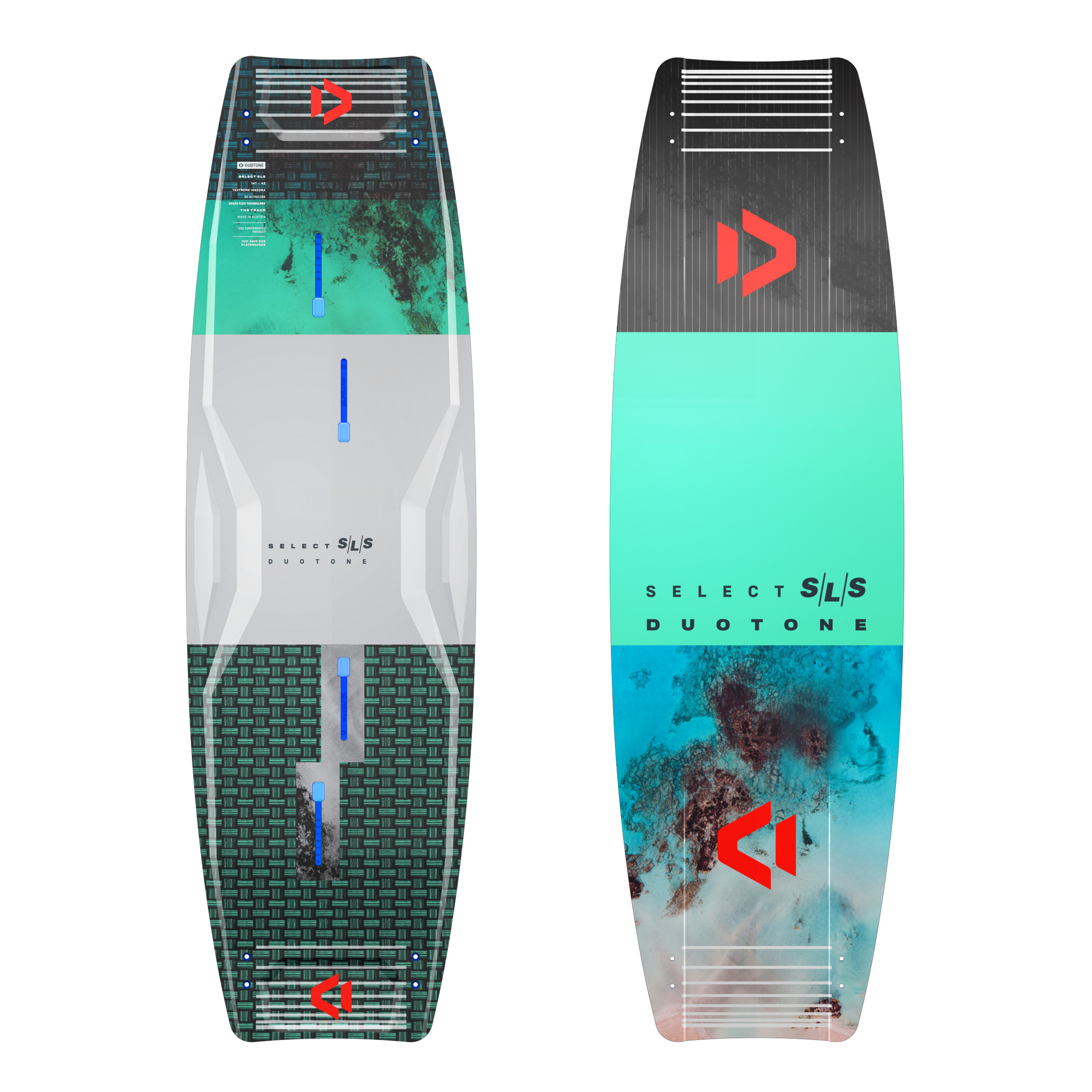 Duotone SELECT SLS 2021 - Strong Light Superior - Freeride Twintip Kiteboard