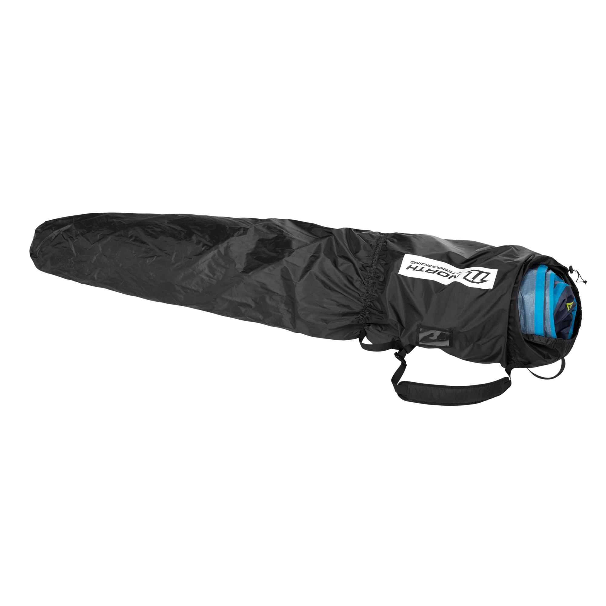 NKB Extension Kite Bag - Packsack für North Kites - Kitebag zum Verlängern - schwarz