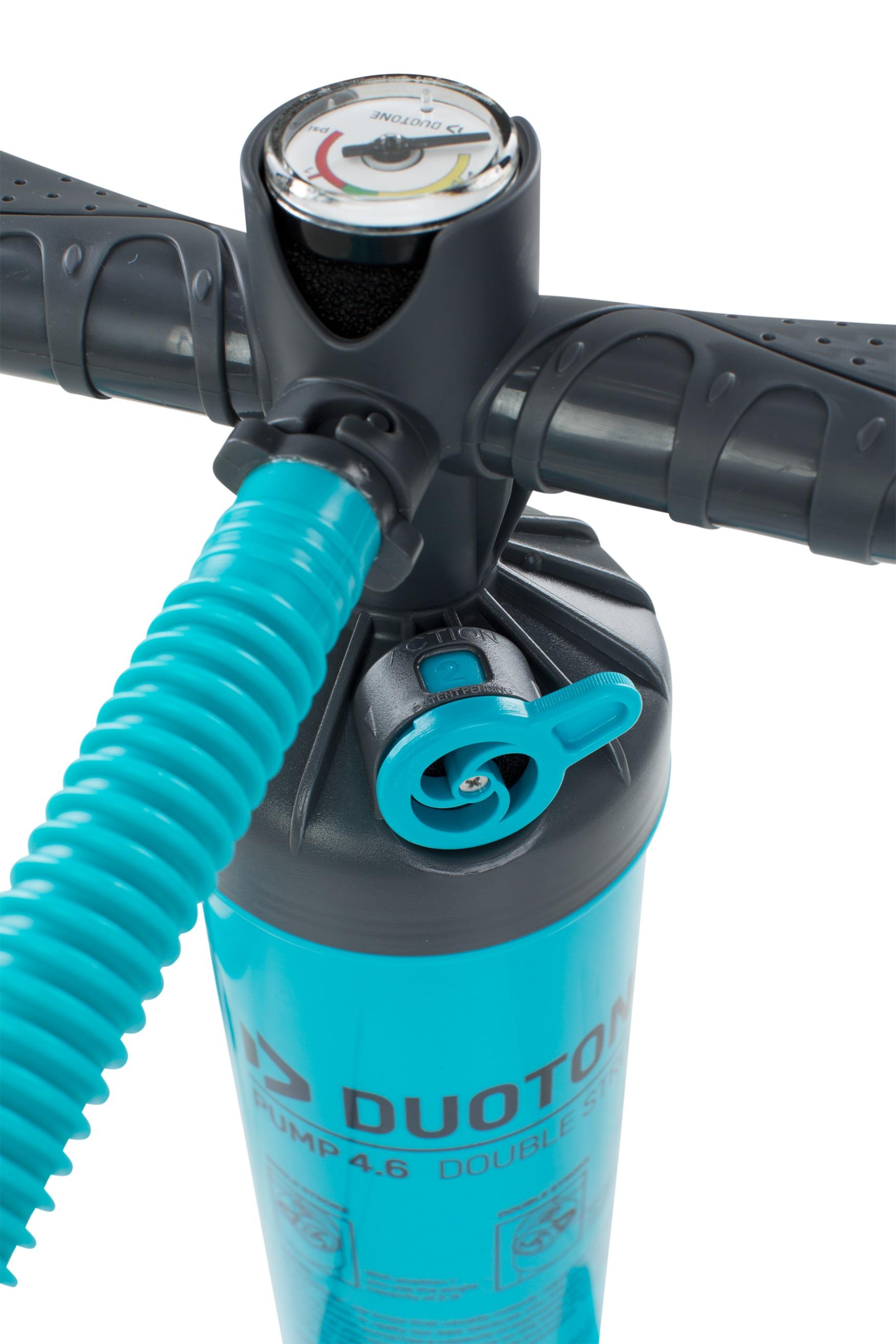 Duotone Double Handpump 2.1 - Kitepumpe Large oder X-Large blau / petrol (wie ehemals North)
