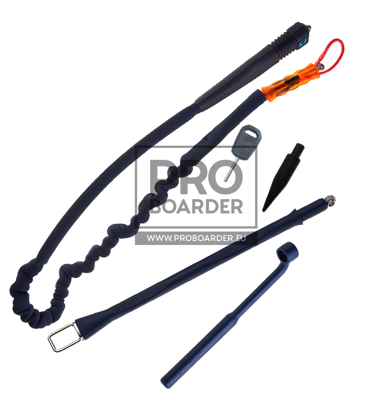 Quick Release Rope Harness Kit 2020 - Chickenloop und Leash für Bars von Duotone
