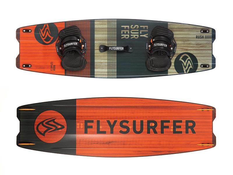 Flysurfer RUSH2 - Freestyle und Big Air Twintip Kiteboard