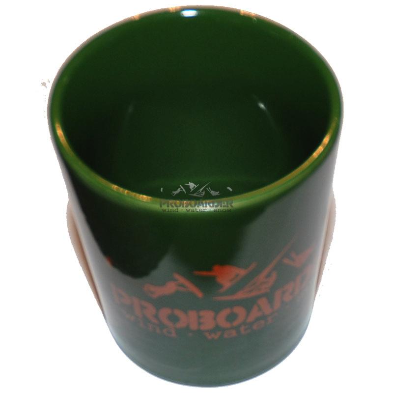 Kaffeetasse grün - Coffee Cup PROBOARDER