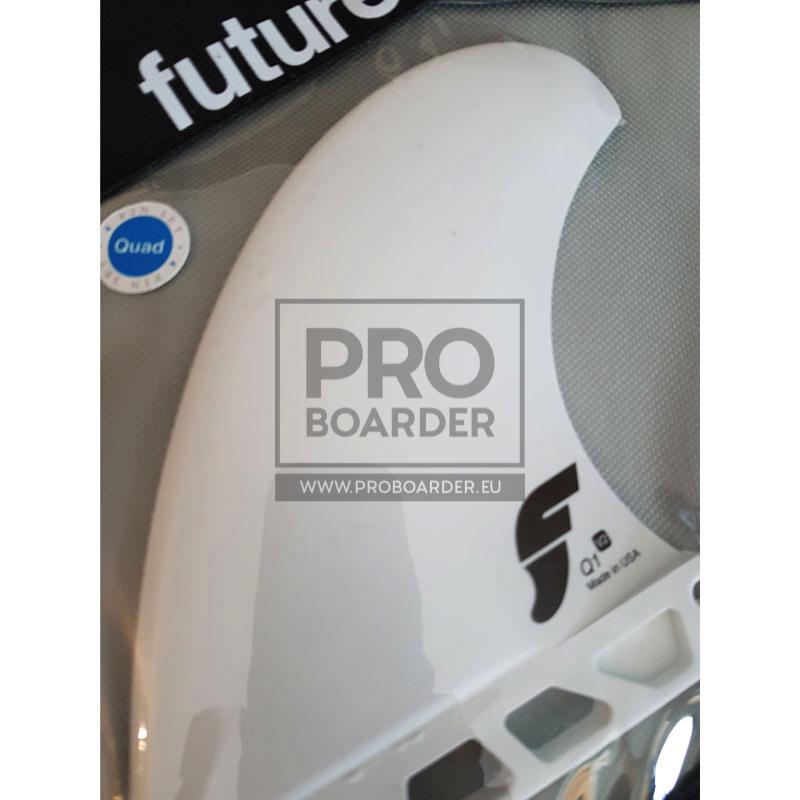 Futures Fins Quad Pack / 4 Stück Finnen für Surfboards wie North Nugget uvm Kitesurfboards