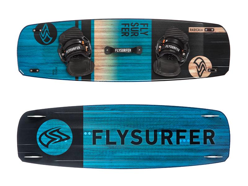Flysurfer RADICAL6 - Freeride und Airstyle Twintip Kiteboard