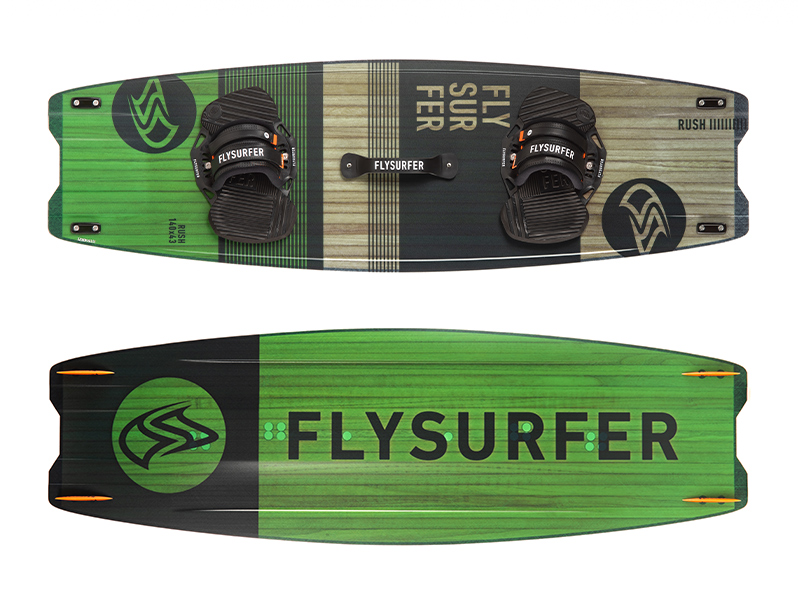Flysurfer RUSH2 - Freestyle und Big Air Twintip Kiteboard