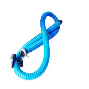 Duotone Pumpenschlauch - Schlauch mit Adapter für Kitepumpen (blau) - Pump Hose