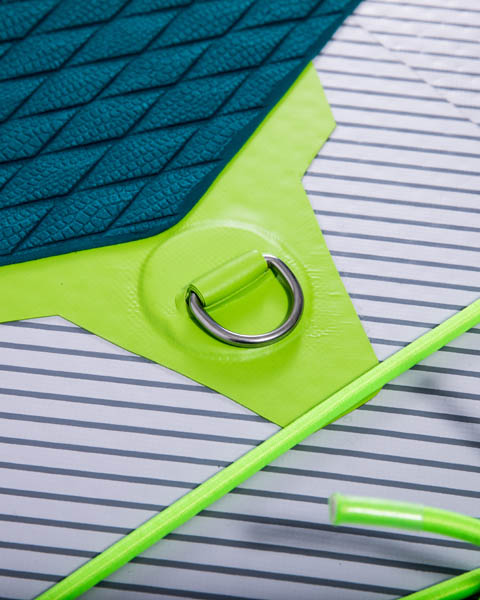 Jobe Venta 9.6 SUP Package - Aufblasbares Windsurf und Stand-Up-Paddle Board
