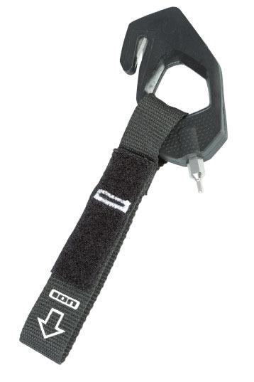 ION Leinenmesser 2.0 mit Tool - Sicherheitsmessr, Cutter - Safety Kite Line Knife - Kiteknife, Kiten