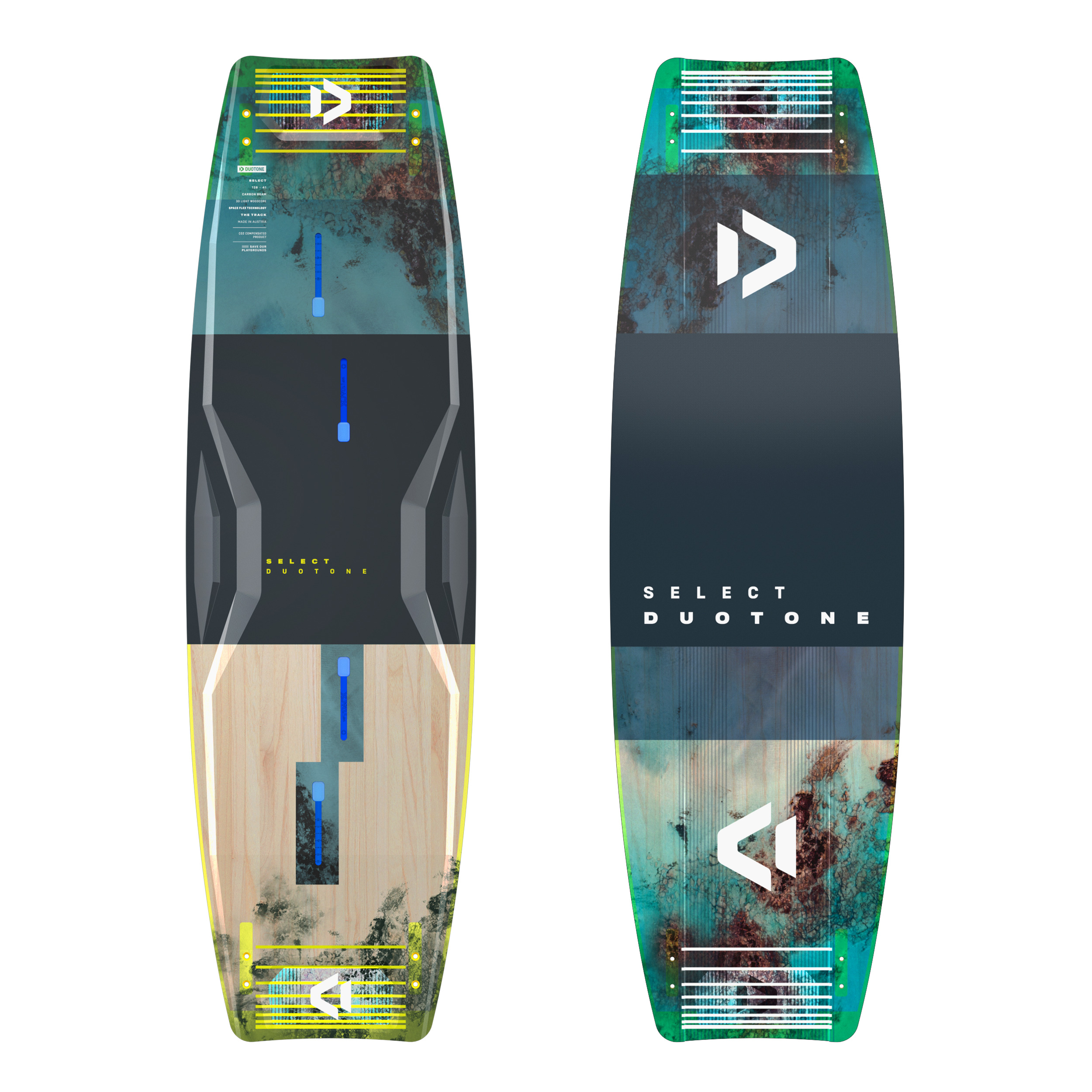 Duotone SELECT 2021 - Freeride Twintip Kiteboard