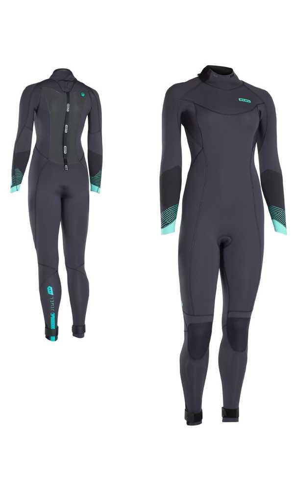 Wetsuit Ion Jewel 5 mm Wetsuit Amp Gr. 36 / Semidry 5,5/4,5 Semidry - Neoprenanzug für Frauen