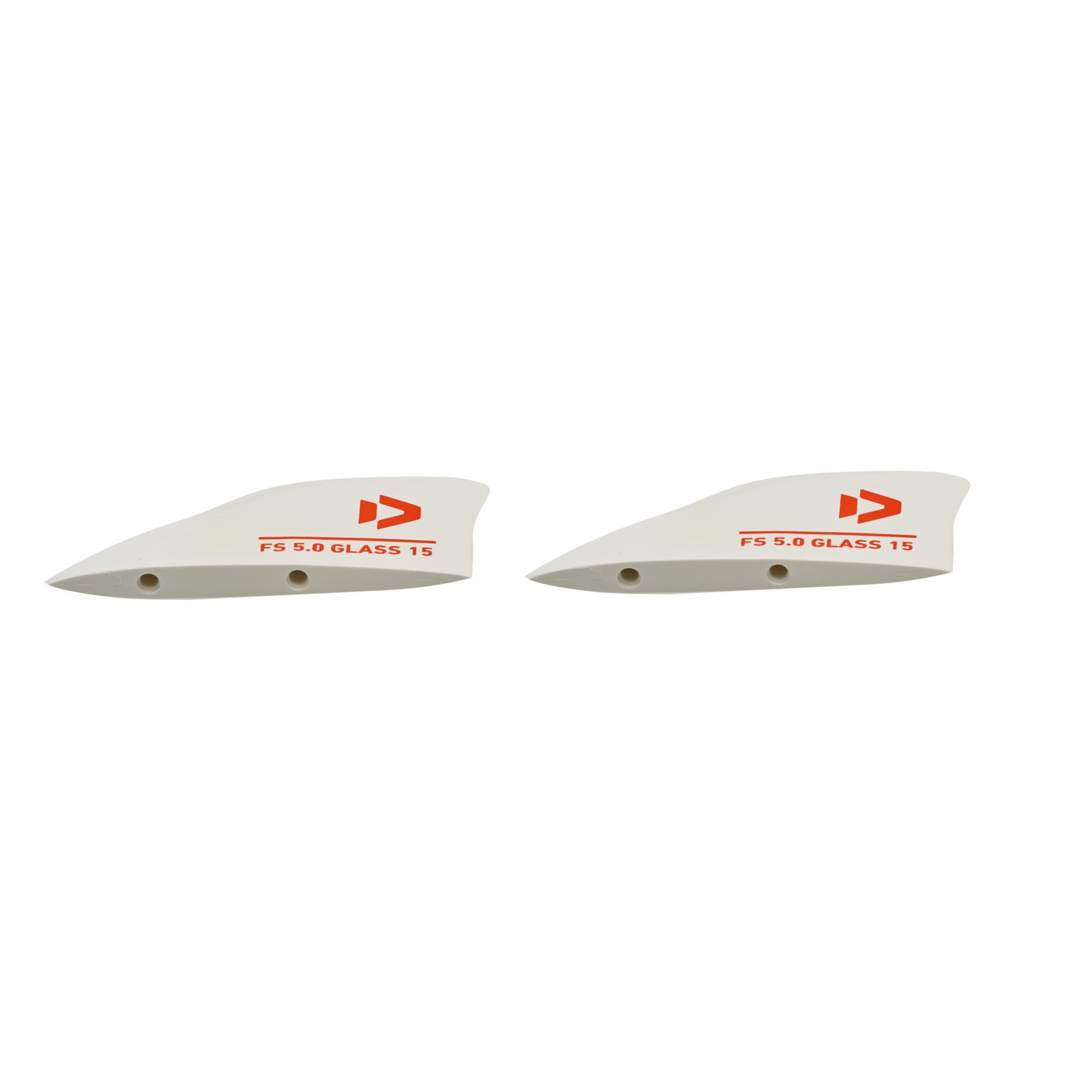 Freestyle Finset S Bend North + Duotone Finnen (Paar) für Twintips - Kiteboard Finnen für Bidirectio