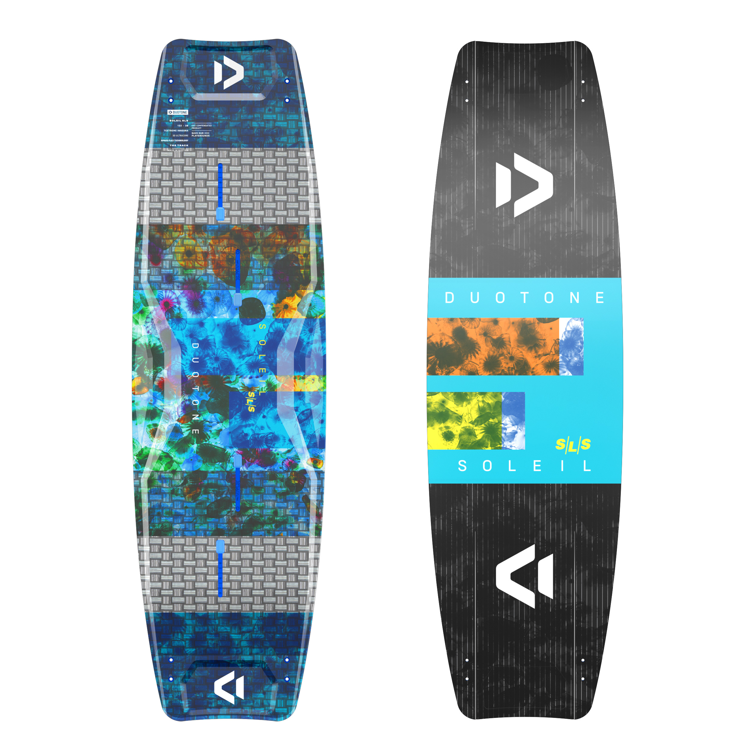 Duotone SOLEIL SLS 2021 - Strong Light Superior - Women Freeride Twintip Kiteboard