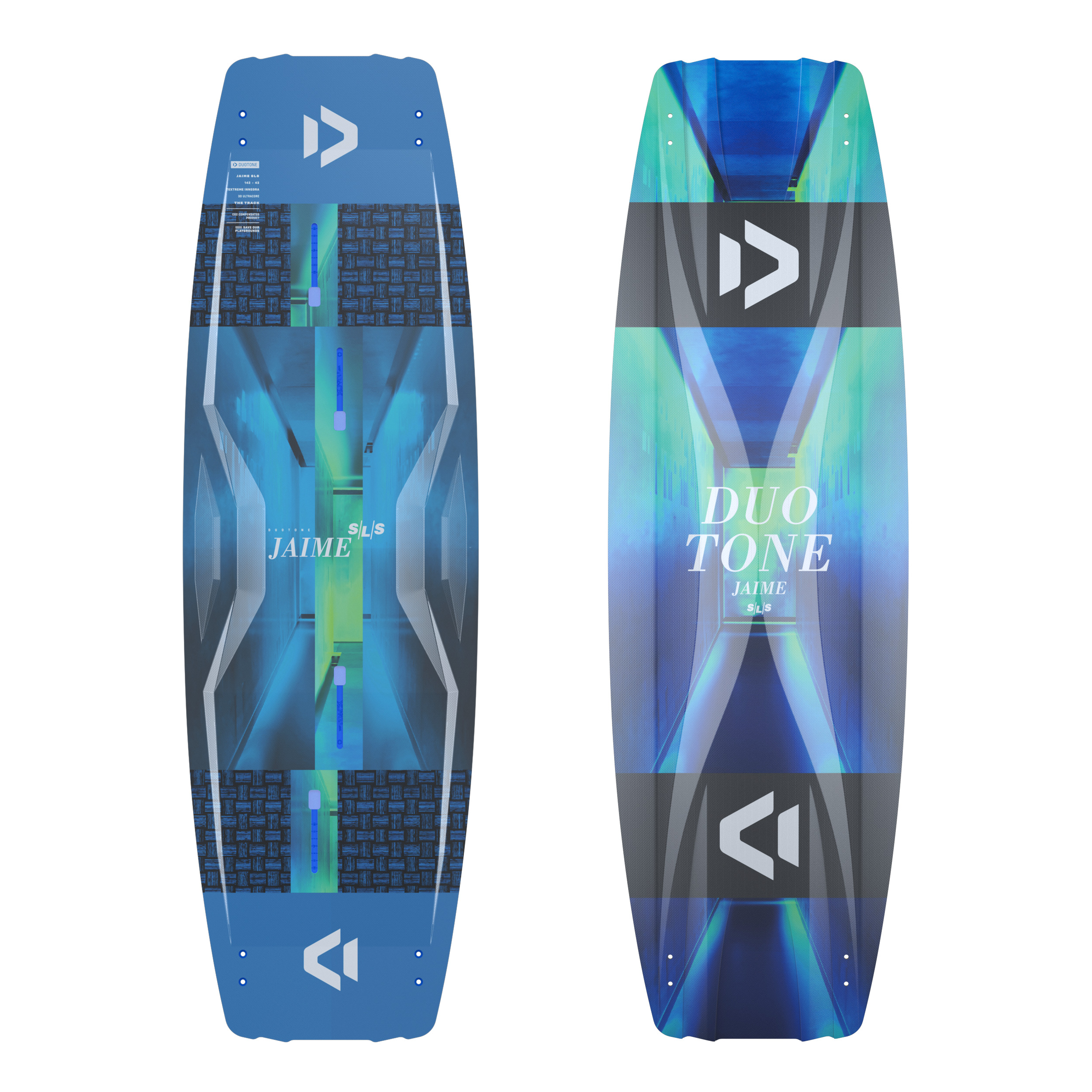 Duotone JAIME SLS 2021 - Strong Light Superior - Freestyle Twintip Kiteboard