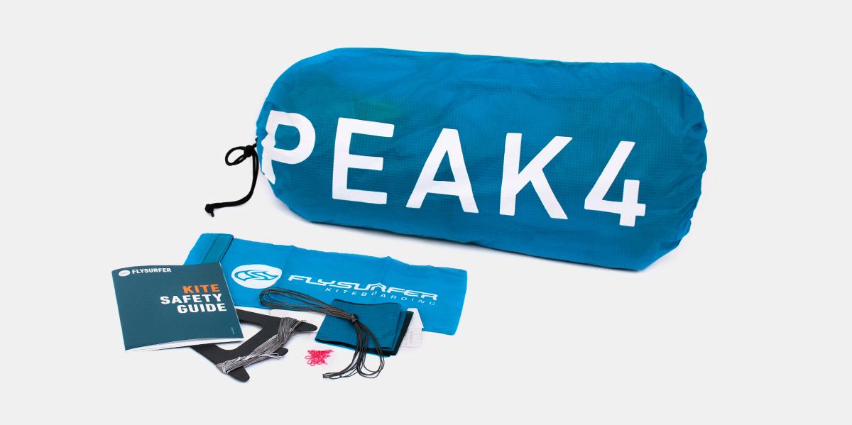 Flysurfer-Peak-4-foil-kite-2019-paket