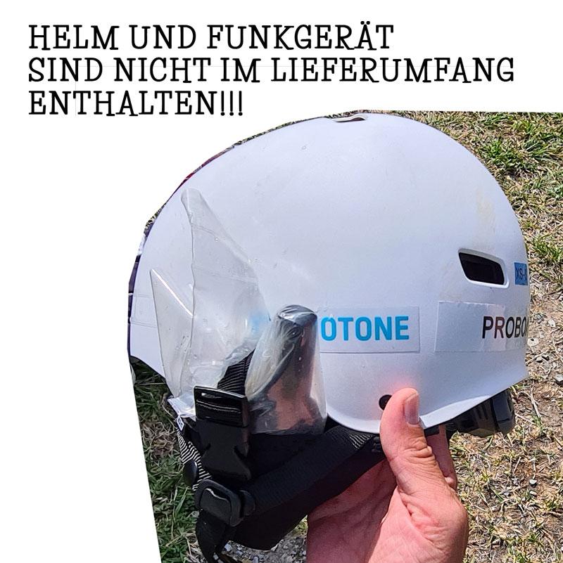 ION Earpad / Ear Pad Walkie Talkie - right side (Halterung für den Helm für ein Funkgerät)
