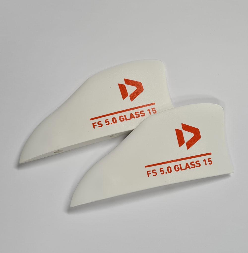Freestyle Finset Duotone Finnen (Paar) für Twintips - Kiteboard Finnen für Bidirectionals  North
